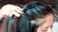Easy Party Hairstyles, Cool Hairstyles For Girls, Bun Hairstyles For Long Hair, Everyday Hairstyles, Girl Hairstyles, Simple Hairstyle For Party, Hairstyle For Kids, Kids Hairstyles For Wedding, Indian Hairstyles