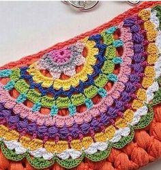 Knitting patterns, knitting designs, knitting for beginners. Crochet Bunny Pattern, Crochet Motifs, Form Crochet, Granny Square Crochet Pattern, Afghan Crochet Patterns, Crochet Stitches, Knitting Patterns, Crochet Designs, Knitting Designs