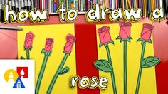 How To Draw A Rose (Young Artists)