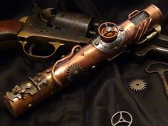 Steampunk Tendencies | Steampunk e-cig by Mike Baker