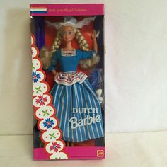 Mattel 1993 Dutch Barbie