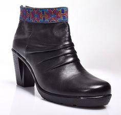 Purplemint's amazing new leather black boot -- cairo