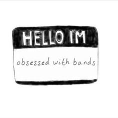 hello im obsessed with bands | Tumblr