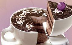 "Торт ""Чашка кофе"""