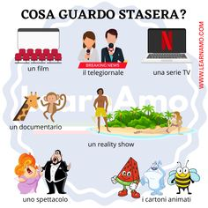 Italian Online, Italian Words, Italian Language, Learning Italian, Film, Grammar, Knowledge, Teacher, Italy
