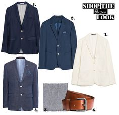 Cool Business Look: Blazer Look Blazer, Business Look, Must Haves, Fashion Looks, Cool Stuff, Jackets, Shopping, Fashion Styles, Style For Men