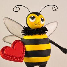 Bee My Valentine by Lisa J. Ammerman, apieceoflisa.etsy.com