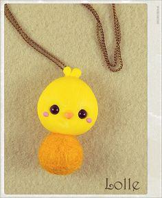 Clay Flurry Chick by LolleBijoux.deviantart.com on @deviantART
