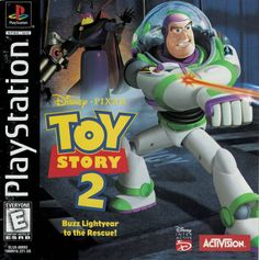 Pixar Toy Story 2: Buzz Lightyear to the Rescue! (PlayStatio, 1999)