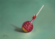 Cherry Red Lollipop