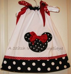 Minnie Mouse Pillowcase Dress