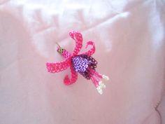 iğne oyası küpe çiçeği motifi