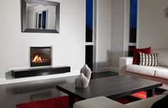 These gas fireplaces aren't just visually appealing but also powerful and efficient