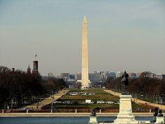 National Mall, Washington DC, USA.