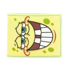 Spongebob Squarepants Face Bifold Wallet * You can get additional details at the image link. (This is an Amazon Affiliate link and I receive a commission for the sales)