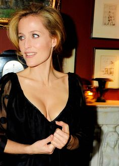 Gillian Anderson. 20 years later, still perfect.