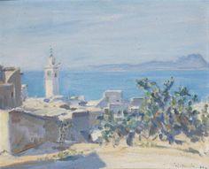 Vue de Sidi Bou Saïd von Jules Lellouche