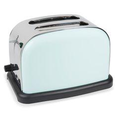 Toaster VINTAGE aus Metall blau