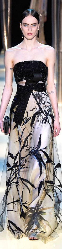 Armani Privé Spring 2015 Couture *-* Follow-me twitter @mcm_blog / http://meninacharmemoda.blogspot.com.br/