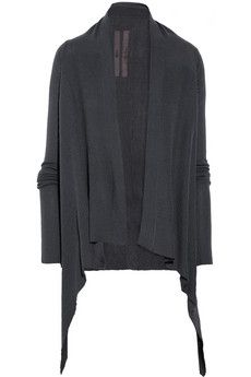 another gorgeous Rick Owenscashmere cardigan