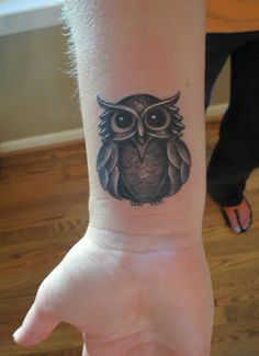 Owl Tattoo- Anniversary Tattoos