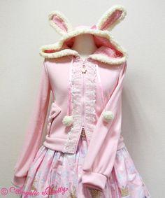 Angelic Pretty Sugar Bunnyパーカ