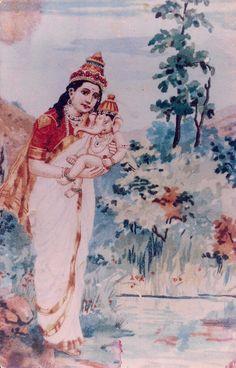 parvathi and ganapathi