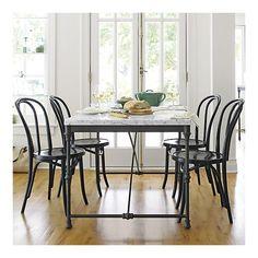 franska lantkök bord och stolar foto - 3