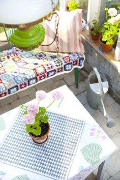 Hildas hem: Ett växthus att bo i