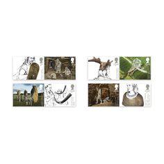 Ancient Britain Stamp Set at Royal Mail Shop Royal Mail, Prehistoric, Britain, Photo Wall, Stamps, Shopping, Image, Decor, Art