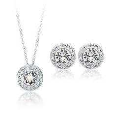 Angelic Set with Swarovski® Crystals