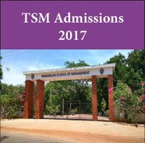 TSM announces MBA and PGDM admissions 2017