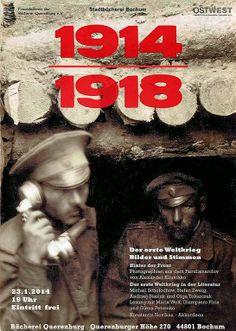 Ruhrgebietmitte hat KulturPOTTential - betreibt OSTWEST Kulturtransfer: Der erste Weltkrieg, Bilder und Stimmen, 23.01, 19 Uhr, Bücherei Que...