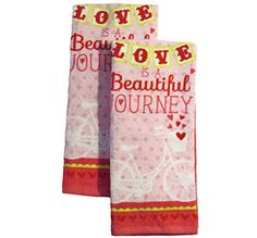 "2 Pk Pink ""Love is a Beautiful Journey"" Plush Kitchen Tow... http://www.amazon.com/dp/B019N4PYSG/ref=cm_sw_r_pi_dp_r3.fxb17686F4"