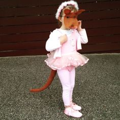 Josephine wants to dance - Australian book week costume - kangaroo costume - Kangaroo tail and mask by Schooza