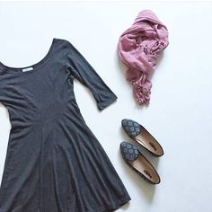 The perfect pairing with soft pink, the Millie in Grey Block smoking flat shoes are the perfect alternative to heels with a dress.