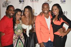 Carlos King and Todd Tucker attend 'Hollywood Divas' wrap party