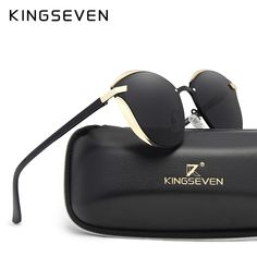 17f24767a54aa KINGSEVEN Cat Eye Sunglasses Women Fashion Ladies Sun Glasses Female  Vintage Shades Oculos de sol Feminino