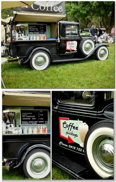 1932 Ford Pickup Truck.... and COFFEE
