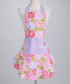 Take a look at this Mum's Apron - Women by Design Imports on #zulily today!