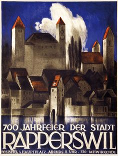 Rapperswil St Gall Otto Baumberger