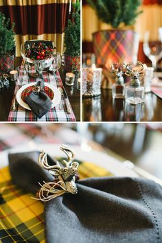 Plaid is Perfect for a Winter Dinner Party - The Celebration Society