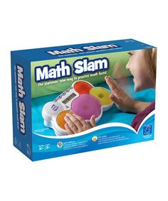 Take a look at this Educational Insights Math Slam by Back to School: Educational Tools on #zulily today!