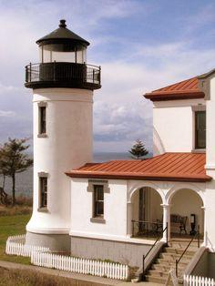 ˚Admiralty Head Lighthouse - Coupeville, Washington