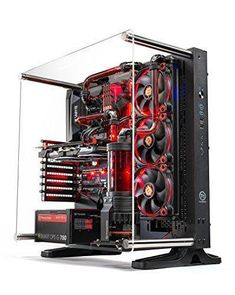 With Unique Red Clear Coolant And Hard Tube This Ultimate Water