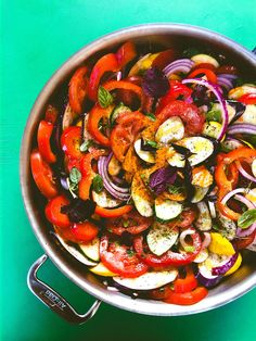 So so easy to make! A classic French dish, this easy ratatouille recipe is perfect with summer vegetables but also comforting in winter.