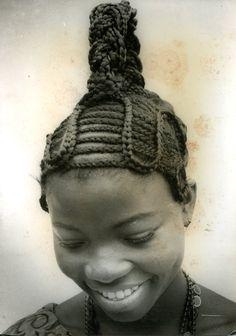 J.D. Okhai Ojeikere _ Hairstyles