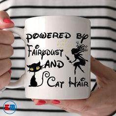 Cat Mug - Powered By Fairy Dust