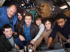 See the first photo of the #HanSolo #StarWars movie cast!