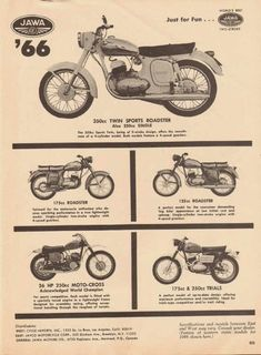 Jawa 350, Motorcycle Engine, Old Bikes, Cool Motorcycles, Classic Bikes, Motocross, Vintage Posters, Motorbikes, Vintage Cars